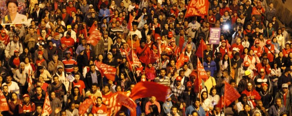100 mil nas ruas por democracia