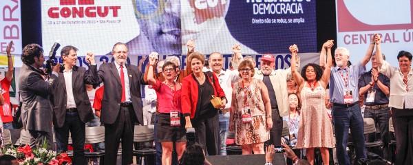 Eleita direção da CUT Nacional