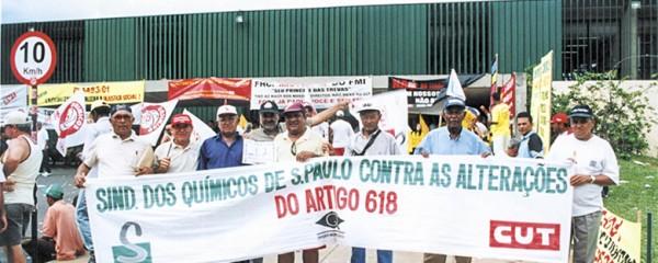 Luta pelos direitos trabalhistas