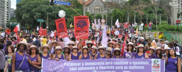 Manifestação e avanços