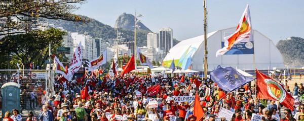 Os jogos olímpicos acontecem sob protestos