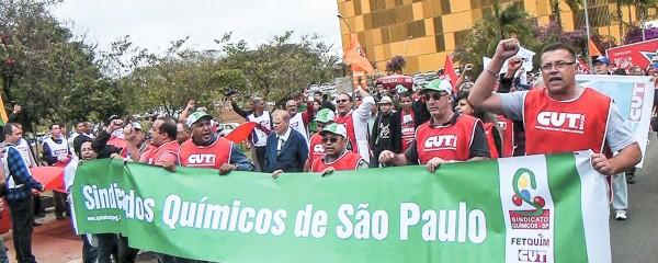 Químicos voltam a Brasília contra o PL nº 4.330