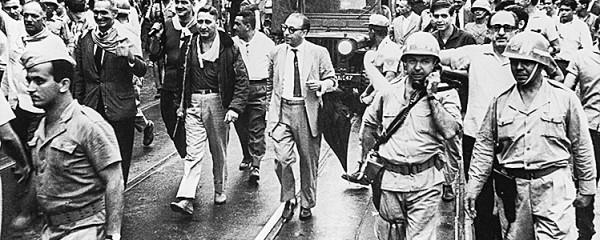 Retrocessos e golpe militar