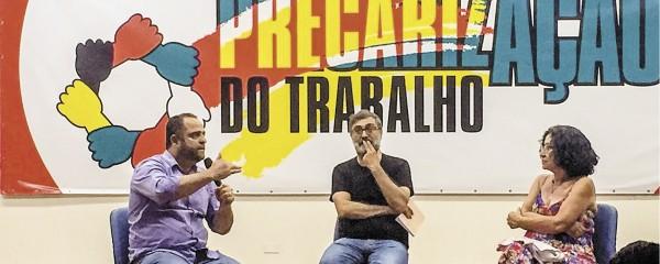 Sindicato apoia a Frente Contra a Precarização